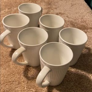 Set of 6 Mezzo Notte Totally Today Coffee Mugs